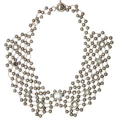 Lanvin Mesh Chain Link Choker ($559) ❤ liked on Polyvore featuring jewelry, necklaces, accessories, women, lanvin jewelry, mesh necklace, chain link necklace, choker jewelry and mesh jewelry
