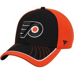 656da051bd4 Men s Philadelphia Flyers Black Transition Flex Hat