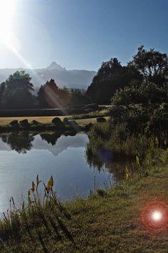 View from the 100 acre garden at Mount Kenya Safari Club