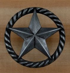 Great Western Drawer Pulls Star Cabinet Hardware | Drawer Pulls, Cross Flag And  Western Art