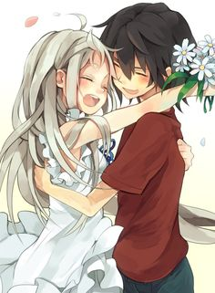 Two souls with but a single thought, two hearts that beat as one~~    Anime : Anohana