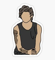 High quality Louis Tomlinson gifts and merchandise. Inspired designs on t-shirts, posters, stickers, home decor, and more by independent artists and designers from around the world. One Direction Drawings, One Direction Wallpaper, One Direction Photos, Harry Styles Wallpaper, Printable Stickers, Cute Stickers, Imprimibles One Direction, Desenho Harry Styles, Desenhos One Direction