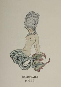 Drawing by deco artist George Barbier for volume 2 of Choderlos de Laclos, Les liaisons dangereuses (Paris: Le Vasseur, 1934)