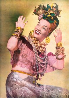 She new how to accessorise. Brazilian icon Carmen Miranda. @designerwallace