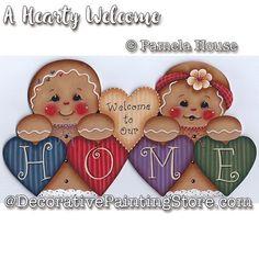 A Hearty Welcome e-Pattern - Pamela House - PDF DOWNLOAD