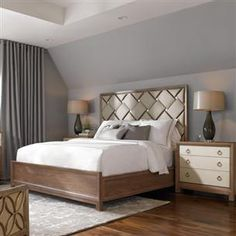 Dreamweaver : Classic Contemporary : Beds : con-kinbed-006 | Caracole Furniture