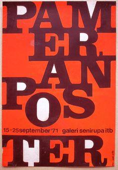 Pameran Poster - Priyanto Sunarto - 1971