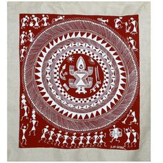 A Complete Warli painting Tutorial Guide - The Crafty Angels Painting Tips, Fabric Painting, Painting Techniques, Painting Frames, Painting Tutorials, Painting Canvas, Interior Color Schemes, Interior Paint Colors, Paint Schemes