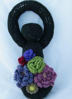 Earth Goddess Decorative Crochet Doll