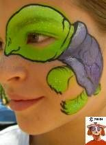 Face Paint Turtle