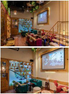 Restaurant Interiors, Restaurant Interior Design, Italian Cafe, Vibrant, Community, Italian Coffee, Communion