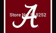Alabama Crimson Tide Flag 3x5 FT NCAA 150X90CM Polyester