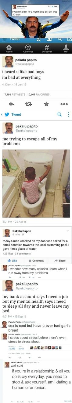 10+ #Hilarious Tweets By Pakalu Papito