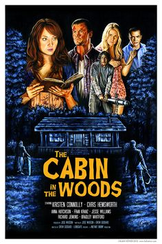 The Cabin in the Woods by Blain Hefner. I actually really liked this movie!