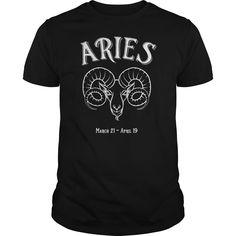 Zodiac Astrology Sign Aries Ram Horoscope T shirt