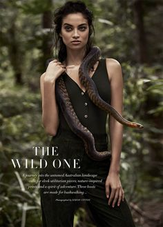 the wild one: shanina shaik by simon upton for harper's bazaar australia march 2015
