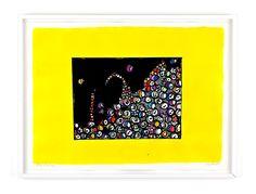 ATT MÖTAS PÅ ETT TORG Bläck, akvarell och pastellkrita på papper Cajsa Fredlund, cajfre@gmail.com