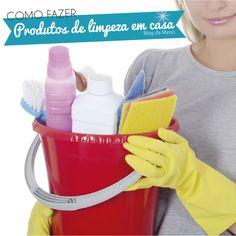As compras dos produtos de limpeza são um dos pontos que mais pesam no nosso orçamento. Além disso, esses produtos normalmente são feitos de componentes químicos tóxicos e, segundo pesquisas, um do…