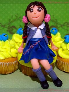 МК как слепить волосы/парик для куклы -How to Make a Doll Wig / Doll Hair - Страница 12 - Мастер-классы по украшению тортов Cake Decorating Tutorials (How To's) Tortas Paso a Paso