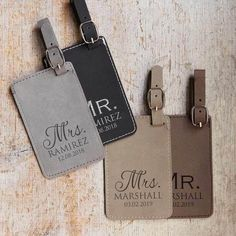Shop now: Our vegan leather, personalized luggage tag by Lifetime Creations is engraved with your choice of our select fonts. A removable identification card makes the bag tags travel-ready for your next trip. Personalized Valentine's Day Gifts, Personalized Luggage Tags, Personalized Picture Frames, Custom Luggage Tags, Custom Gifts, Luggage Tags Wedding, Leather Luggage Tags, Bride Gifts, Couple