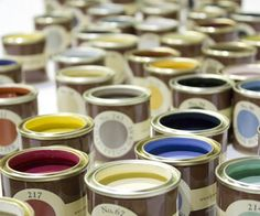 Farrow & Ball - paint & wallpaper samples - I love this paint!