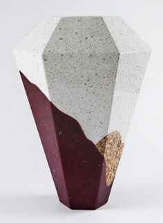 'arizona' Vase - itay laniado + shira keret render scape vases from caesarstone