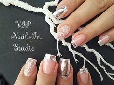 Sylver Nails. Wedding Nails