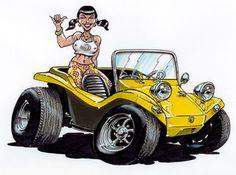 buggy girl