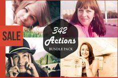 Sale  342 Premium Photoshop Action Bundle by Symufa on Etsy, $25.00