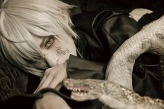 Mayu(繭) Snake Cosplay Photo - WorldCosplay