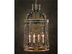 Shop for John Richard Four-Light Lantern Chandelier, AJC-8481, and other Lamps and Lighting at Greenbaum Interiors in Paterson NJ, Morristown NJ.