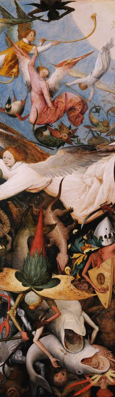 Pieter Bruegel the Elder, Fall of the Rebel Angels Detail on ArtStack #pieter-bruegel-the-elder #art