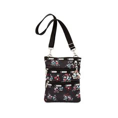 Mickey and Minnie Mouse Kasey Bag by LeSportsac ($48) ❤ liked on Polyvore