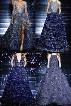 Blue Dresses, Prom Dresses, Formal Dresses, Fashion Sketches, Elegant Dresses, Fashion Outfits, Fashion Weeks, Fasion, Designer Dresses