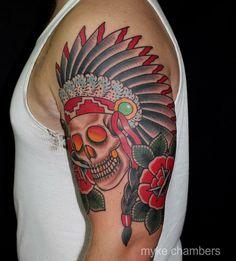 Myke Chambers traditional Sullen TV  WATCH & SUBSCRIBE:  http://www.youtube.com/watch?v=uwO7xwwp7qw  Follow our Blog:  http://sullentv.tumblr.com/ #sullentv #sullen #tattoos #tattoo #tattooed #art #ink #artist #realistic #realism #traditional #mykechambers