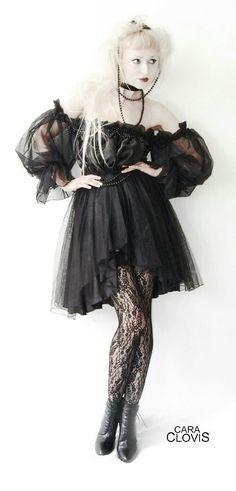 Prinzess satin dress