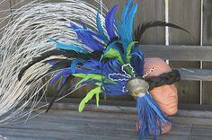 Headpiece Tahitian Dance Costume Headdress Woman Girl | eBay
