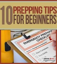 Self Sufficiency: 10 Prepping Tips For Beginners.Survival ideas and strategies on how to deal disaster situation for beginner preppers.   Survival Gear and Prepping Ideas   Survival Life   http://survivallife.com/2015/01/28/become-a-prepper-10-ways/