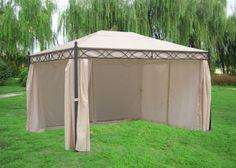 Pavillon Rivoli mit Seitenteilen 3x4 Meter, Dach und Seitenteile ecru gartenmoebel-einkauf http://www.amazon.de/dp/B0050KDLGK/ref=cm_sw_r_pi_dp_B19cxb0B6S7JM