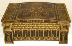 Huntley and Palmer tin. Just look at this pattern! Gorgeous.