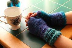 The Life Artistic: Cuff'd Fingerless Gloves