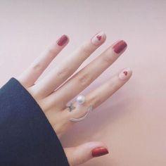 Squoval Short size fake Nails Soft Girl Wears Diy Nail Art 23 Styles Accessory 24 PCS Tips Love pink Fake nails with glue. Fall Nail Art, Nail Art Diy, Diy Nails, Cute Nails, Nail Art Designs Images, Simple Nail Art Designs, Toe Designs, Nail Swag, Bling Nail Art