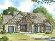 Ranch House Plan with 2513 Square Feet and 5 Bedrooms from Dream Home Source | House Plan Code DHSW078036