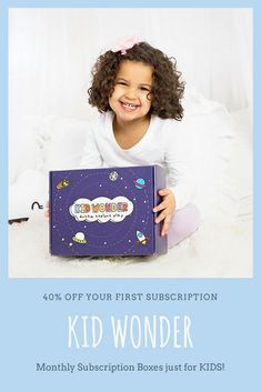 Subscription boxes for kids! Kids crafts and activities delivered right to your door!