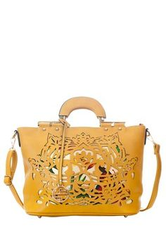 Segolene Paris - Laser Cutout Handbag