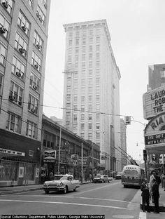 Healey Building, Downtown Atlanta, Georgia.   Circa 1950s.