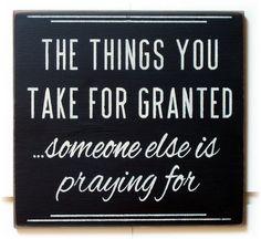 Seamos agradecidos.