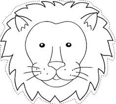 mascaras de animales del zoologico - Buscar con Google