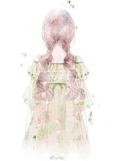 Pretty Anime Girl, Beautiful Anime Girl, Kawaii Anime Girl, Anime Art Girl, 5 Anime, Anime Angel, Anime Chibi, Illustrations, Illustration Art