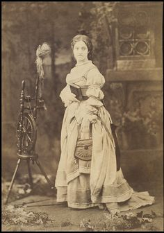 Adelina Patti as Marguerite in Faust, Covent Garden, July 1864. This photo is of the Opera star early in her career and is from the Victoria and Albert Museum